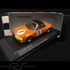 Porsche 914 6 Marathon de la route 1970 n° 1 Larrousse 1/43 Minichamps 400706501