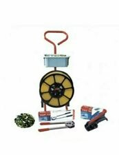 More details for hand pallet  strapping banding kit metal seals - tools - coils  - mobile trolley