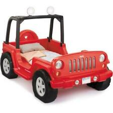 Toddler Bed Jeep Wrangler Style Convertible Twin Size Home Kid Bedroom Furniture