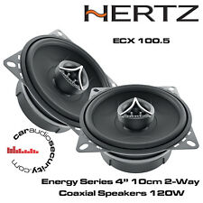 "HERTZ ecx100.5 Energy 10cm 4"" 2-way Series coassiale PORTA DIFFUSORI 120 Watt ciascuna"
