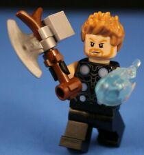LEGO® MARVEL™ SUPER HEROES™ 76102 THOR End Game Minifigure + BATTLEAXE 100% LEGO