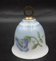 Porcelain Bell Blue Petunia BING & GRONDAHL B&G COPENHAGEN DENMARK