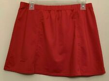 Bolle Sport Red Tennis Skort - Large - Ball pocket on Attached shorts - Euc