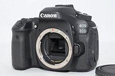 Canon Eos 80D Réflex Numérique Corps Appareil Photo (Noir) Obturateur:263