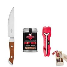 SteakChamp 10-2100 Steak-Buddy Geschenkset 3-Color