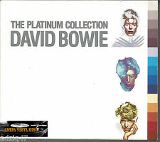 ♫ CD  DAVID BOWIE THE PLATINUM COLLECTION 3 DISC CD ♫