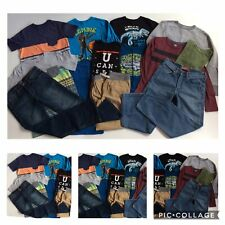 BOYS SIZE 14-16 ~HUGE CLOTHES LOT JEANS SHIRTS OUTFITS CAT & JACK LEVIS GAP KIDS
