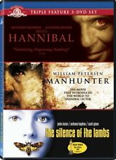 HANNIBAL + MANHUNTER + SILENCE OF LAMBS New DVD Lecter