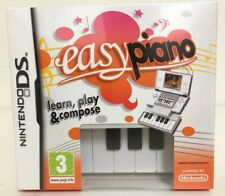 Easy Piano + Keyboard DS nintendo jeux games spellen spelletjes 6482
