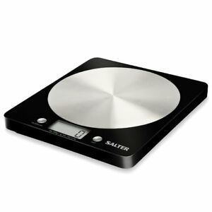 Salter 1036BKSSDR Kitchen Scales, Digital Weighing Scales