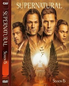 Supernatural Season DVD Box_15 Series Set Full Fifteen15_Series UK 14, Free Post