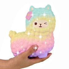 Riesiges Schaf Squishy Alpaka-Galaxie langsam steigendes Stressabbau Spielzeug