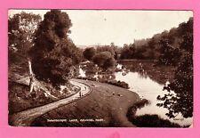 Dated 1942. Swanbourne Lake, Arundel Park, Sussex.