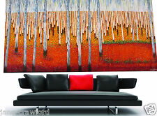 Bush Scrub Landscape Art  by jane crawford 240cm Huge painting  COA
