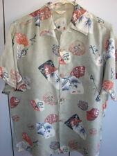 Hookano  Small  Silk Kimono Print /1950's/Mint