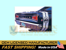 1968 Dodge Super Bee Bumble Bee Decals & Stripes Kit