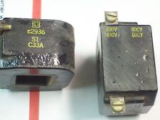 **LOT OF 3** SQUARE D 440/480V COIL , 2936-S1-C33A