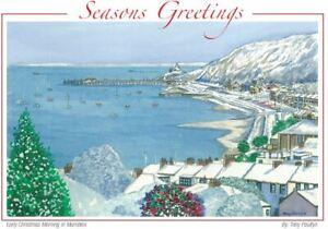 Mumbles Bay winter wonderland - Christmas Card - Tony Paultyn