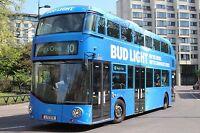 LT174 LTZ1174 London United Borismaster  6x4 Quality London Bus Photo