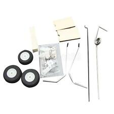 Metal Landing Gear With Sterring Tail Wheel Kit Set RC Airplane Spare Part