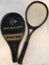 VTG JOHN MCENROE Autograph Dunlop Mid-Size Graphite Tennis Raquet Racket L4 1/2