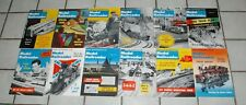 1960 Full year Model  Railroader Magazines Nice Issues