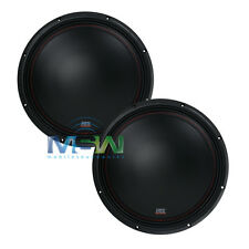 "(2) MTX 3512-04 12"" 35-Series SINGLE 4-OHM CAR AUDIO STEREO SUBS SUBWOOFERS PAIR"