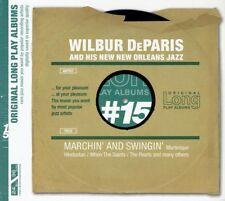 Wilbur DeParis and His New Orleans Jazz - Marchin and Swingin' CD New Digipak