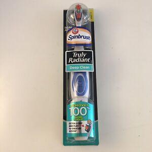 ARM & HAMMER Spinbrush Toothbrush Truly Radiant Deep Clean + BONUS