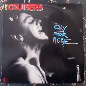 ♫ LP 1987 Neo-Rockabilly THE CRUISERS Cry For More PIGTURE DISC PD 003 RARE EX ♫