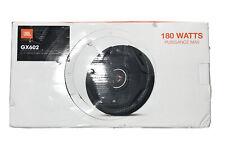 "AUTHENTIC BRAND NEW JBL GX602 180 WTS GX Series 6.5"" 2Way Coaxial Car Speakers"