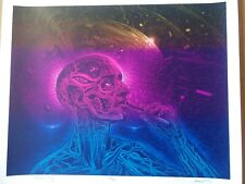 Bicycle Day Alex Grey Mars 1 Limited Rare Art Poster /419 Tool Hoffman Blotter
