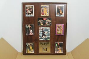 """SHAQUILLE O'NEAL """"TAKING THE WORLD BY STORM PLAQUE"""" LIMITED EDITION"""
