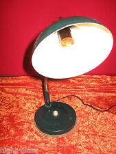 LAMPE ANCIENNE REGLABLE DES ANNEES 1950 EN FER DESIGN INDUSTRIEL