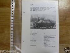 F40-FIAT 128 COACH,SEDAN,STATIONCAR EN RALLY 1973-1976,