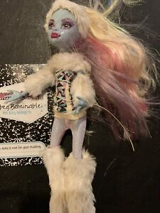 Monster High Abbey Bominable First Wave