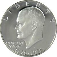 1976 S Variety 1 $1 Eisenhower IKE Silver Clad Dollar Coin Choice Proof