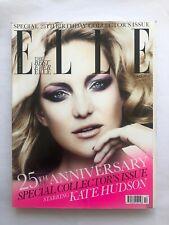 Elle Magazine Fashion Style Beauty - October 2010 - Kate Hudson 25th Anniversary