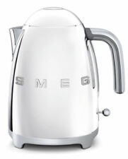 SMEG KLF03SSUK Cordless Chrome Kettle Retro 50s Style - 2 Year Guarantee - NEW