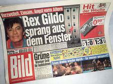 Bildzeitung vom 25.10.1999 Geschenk 17. 18. 19. 20. Geburtstag * Rex Gildo