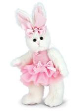 "Bearington Collection Bunni Ballerina Plush Easter Rabbit  10"" H"
