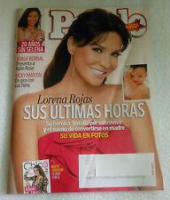 People Espanol Magazine April Abril 2015 Lorena Rojas Jorge Bernal Ricky Martin