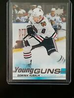 Dominik Kubalik 2019-20 Upper Deck Young Guns Rookie Blackhawks