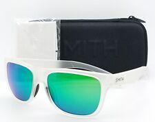 NEW Smith Lowdown Slim sunglasses Matte Clear Green Sol-X AUTHENTIC $119 mirror