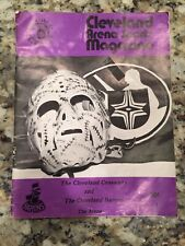 Rare 1972-73 Arena Sports Program Cleveland Barons Crusaders With Autographs!!!!