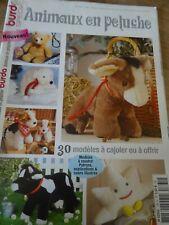 MAGAZINE BURDA SPECIAL ANIMAUX EN PELUCHE 30 MODELES A COUDRE ET COURS ILLUSTRES