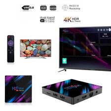Smart Tv Box H96Max Android 9.0 64 Bit Quad Core 4K Ultra Hd WiFi Media Player