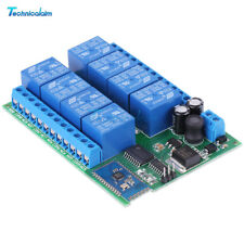 8 Channel 12V Bluetooth Relay Android Mobile Remote control Switch Motor Light