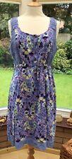 Mantaray Evie Crochet Back Sun Dress Size 16 BNWT