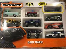 Matchbox On A Mission Gift Pack OF 9 Cars( One is EXCLUSIVE VEHICLE) BATMAN